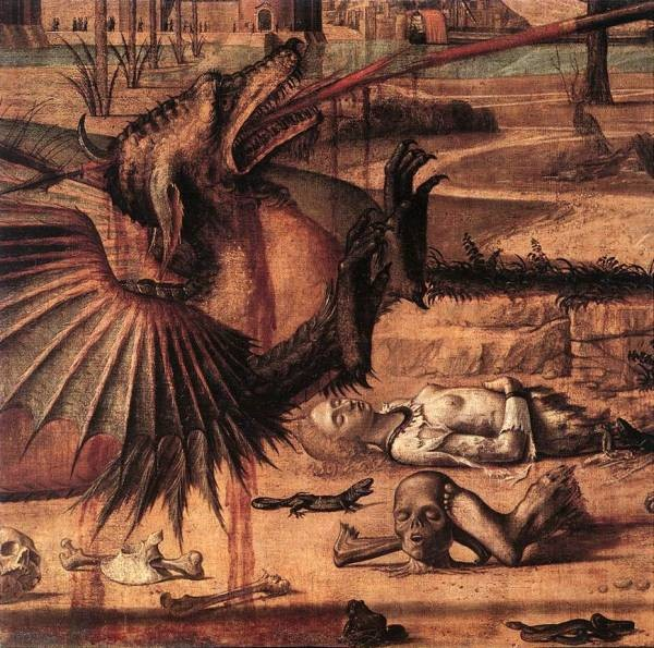 Carpaccio St George and the Dragon detail2